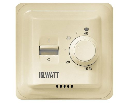 Терморегулятор IQ Watt Thermostat M кремовый