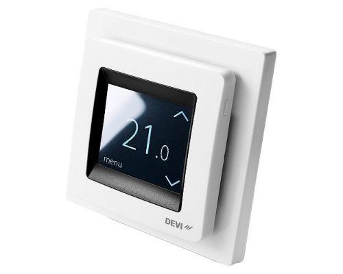 Терморегулятор Devi Touch белый (white)