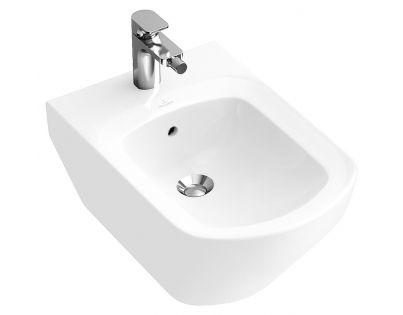 Биде подвесное Villeroy & Boch Sentique 5422 00R2 star white CeramicPlus