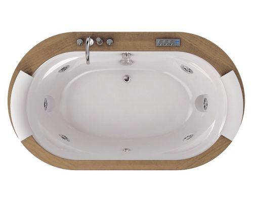 Акриловая ванна Jacuzzi Opalia Wood
