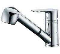 Смеситель D&K Reisling Rhein DA1272501 для кухонной мойки, с вытяжным  душем
