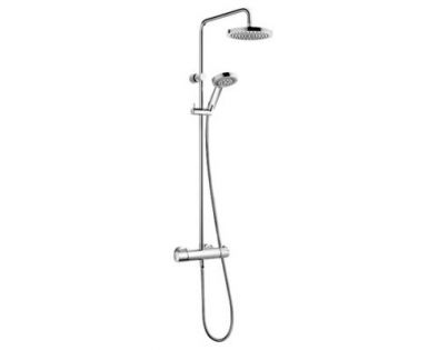 Душевая стойка Kludi Zenta dual shower system 6609505-00