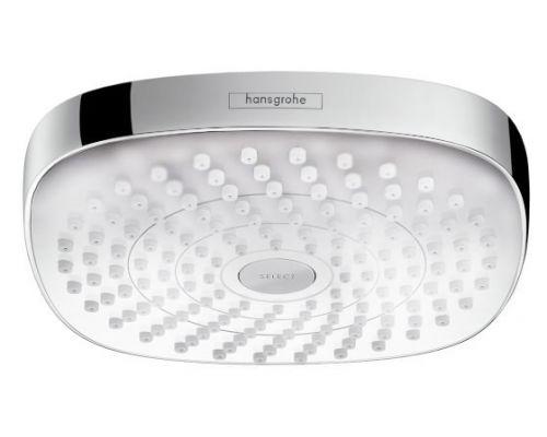 Верхний душ Hansgrohe Croma Select E 180 26524400 белый/хром