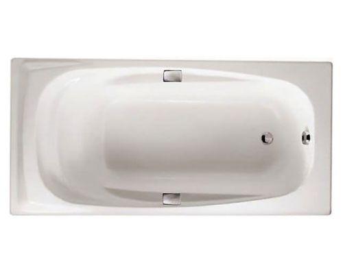 Чугунная ванна Jacob Delafon Repos 170х80 с отверстиями для ручек, E2915