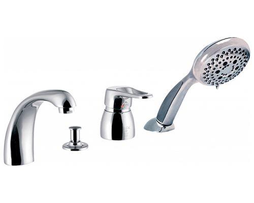 Смеситель E.C.A. Mix lx 102101062 на борт ванны