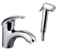 Смеситель E.C.A. Mix P 402110041 для раковины с гигиеническим душем
