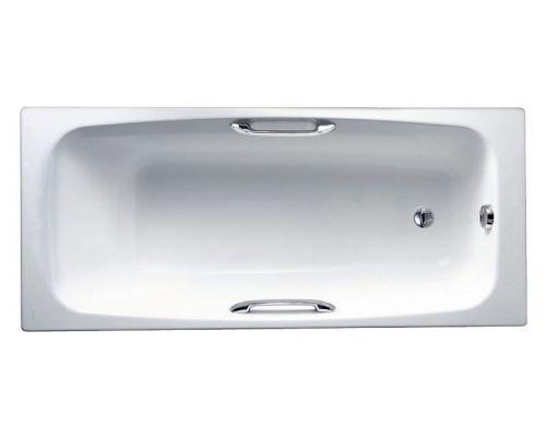 Чугунная ванна Jacob Delafon Diapason 170x75 с отверстиями для ручек, E2926