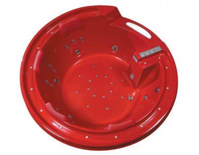 Акриловая ванна Gemy G9090 O красная