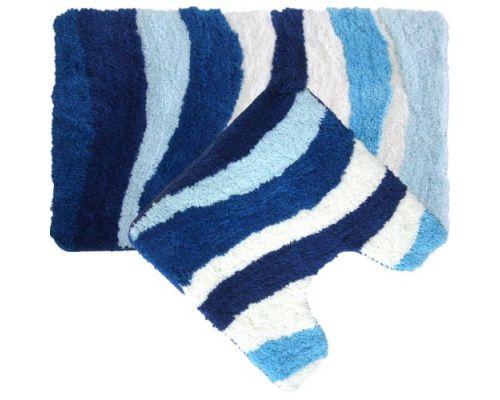 Коврик Iddis Blue Wave комплект