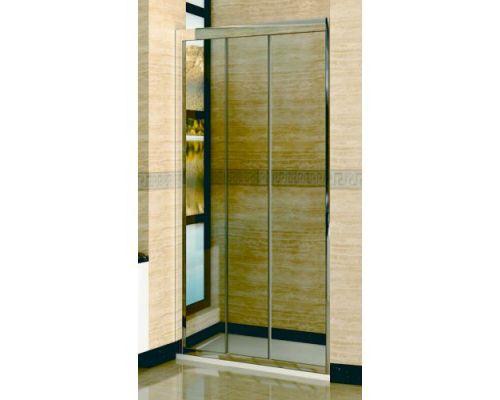 Душевая дверь в нишу RGW Classic CL-11 100х185 профиль хром, стекло чистое