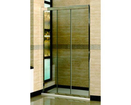 Душевая дверь в нишу RGW Classic CL-11 130х185 профиль хром, стекло прозрачное