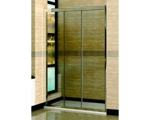 Душевая дверь в нишу RGW Classic CL-11 145х185 профиль хром, стекло прозрачное