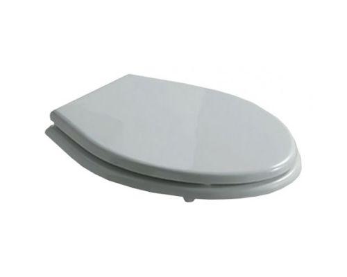 Крышка-сиденье Galassia Ethos 8413 белая, петли хром