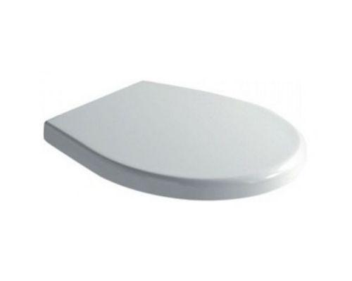 Крышка-сиденье Galassia Xes 9912 белая, с микролифтом, петли хром