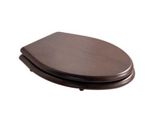 Крышка-сиденье Galassia Ethos 8495NO орех, петли хром