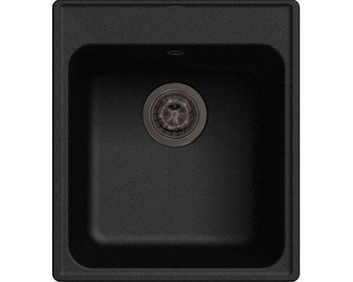 Мойка кухонная GranFest Eco 17 черная
