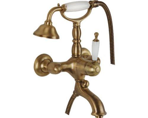 Смеситель Bugnatese Oxford 6302BR для ванны с душем, бронза