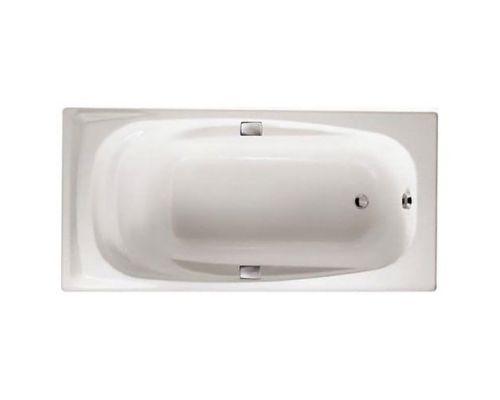 Чугунная ванна Jacob Delafon Repos 180x85 с отверстиями для ручек, E2903