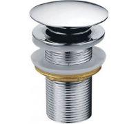 Донный клапан для раковины Creavit SF030 без перелива, хром