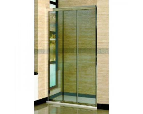 Душевая дверь в нишу RGW Classic CL-11 125х185 профиль хром, стекло шиншила
