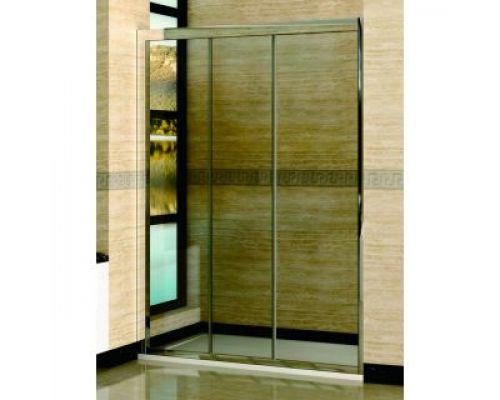 Душевая дверь в нишу RGW Classic CL-11 155х185 профиль хром, стекло прозрачное
