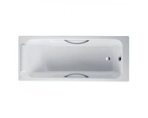 Чугунная ванна Jacob Delafon Parallel 170x70 с отверстиями для ручек, E2948