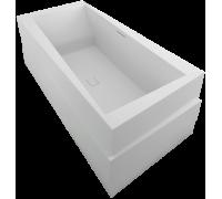 Ванна из литьевого мрамора Jacob Delafon Askew 1801K-00 185x90 см