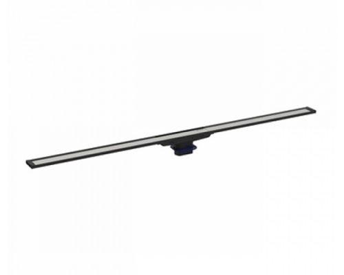 Крышка душевого канала Geberit CleanLine20 154.450.00.1, 30-90 cм, тёмный металл/матовый металл