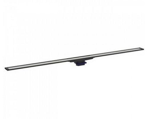 Крышка душевого канала Geberit CleanLine60 154.456.00.1, 30-90 cм, вровень с полом, тёмный металл/матовый металл