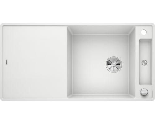 Мойка Blanco Axia III XL 6 S-F белый, доска ясень, c клапаном-автоматом InFino 523523