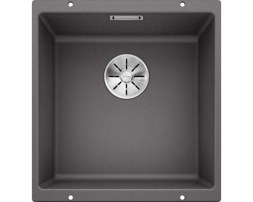 Кухонная мойка Blanco Subline 400-U 523423, темная скала