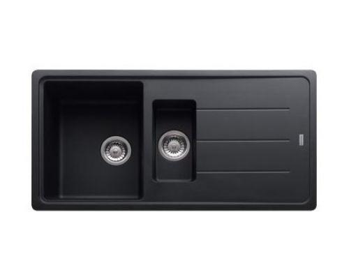 Мойка Franke BASIS BFG 651, 114.0259.949, гранит, установка сверху, оборачиваемая, цвет графит, 97*50 см