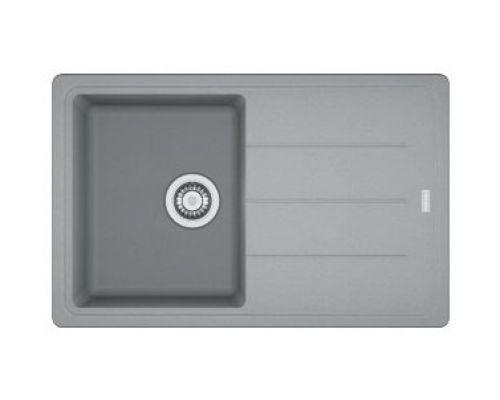 Мойка Franke BASIS BFG 611, 114.0259.930, гранит, установка сверху, оборачиваемая, цвет серый, 78*50 см