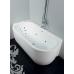 Ванна акриловая BelBagno, BB11-1800-L - Левая, 180 х 80 см
