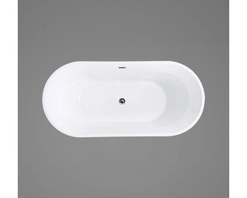 Ванна акриловая BelBagno BB40-1700 170 х 80 см, морская волна