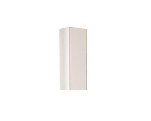 Шкаф одностворчатый Акватон Йорк, 1A171403YOAY0, белый/ выбеленное дерево