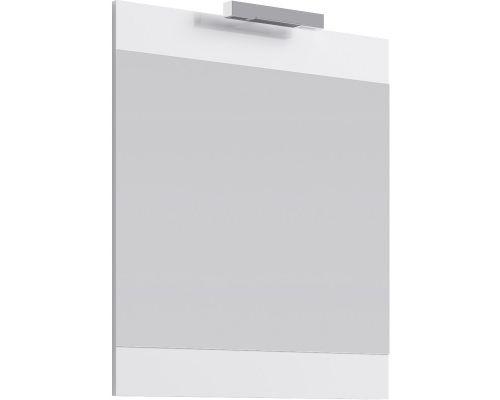 Зеркало с подсветкой Aqwella Бриг 75 Br.02.07/W, белый