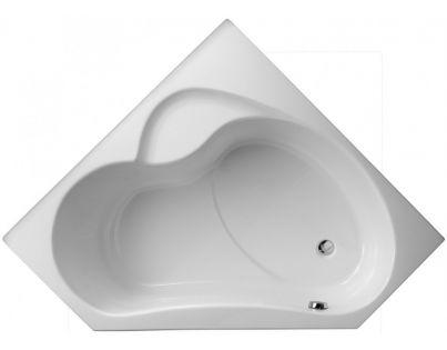 Ванна акриловая Jacob Delafon Bain Douche E6219-00, правая 135 x 135 см