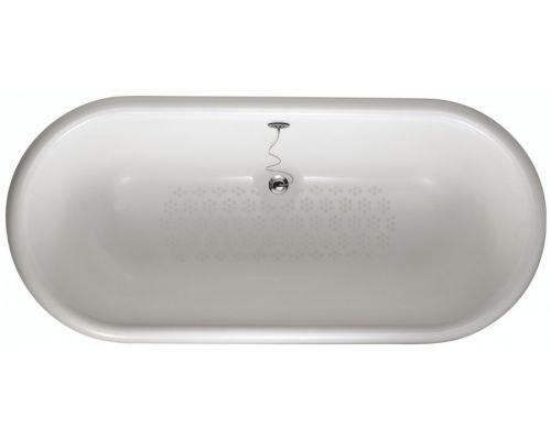 Ванна чугунная Jacob Delafon CLEO E2901N-00 окрашенная в белый цвет, 175 х 80 см