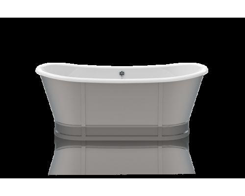 Ванна акриловая Knief Prince 0100-086 170 х 70 см с алюминиевым экраном