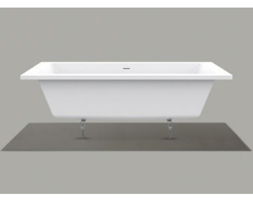 Ванна акриловая Knief Culture Fit 0400-268 180 х 80 см с ножками и сливом