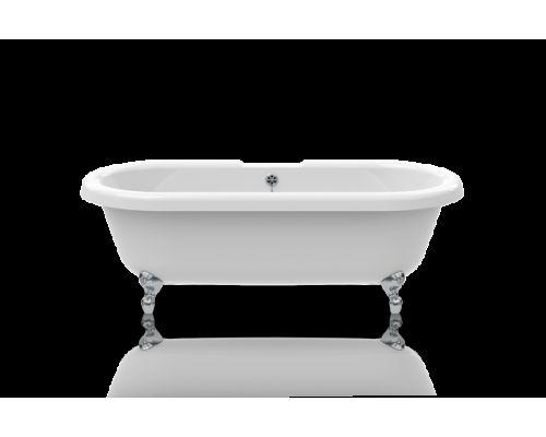 Ванна акриловая Knief Edwardian 0100-063-02 180 х 80 см с 4-мя хромированными ножками в виде шара