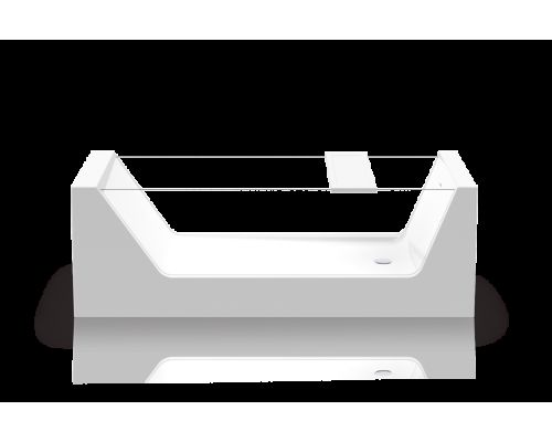 Ванна акриловая Knief Look 0100-250 180 х 80 см с прозрачными боковыми стенками
