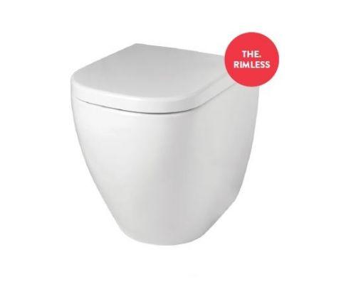 Унитаз ArtCeram Faster FSV004 01; 00, приставной, безободковый, белый глянцевый