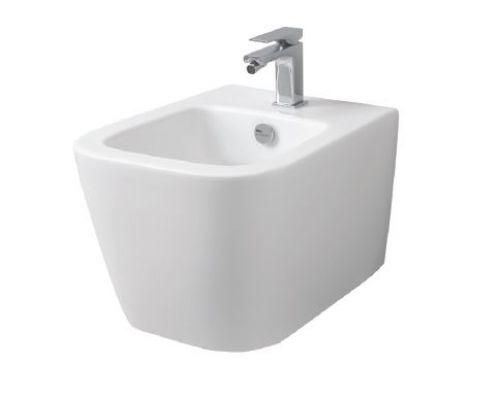 Биде ArtCeram A16 Mini ASB003 01; 00, подвесное, цвет - белый глянцевый