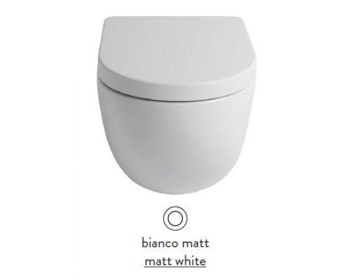 Унитаз ArtCeram File 2.0 FLV005 05; 00, приставной, безободковый, цвет - белый матовый