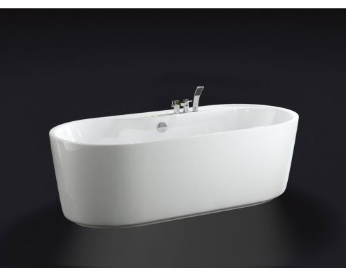 Ванна акриловая BelBagno BB14-K, 180 х 85 см