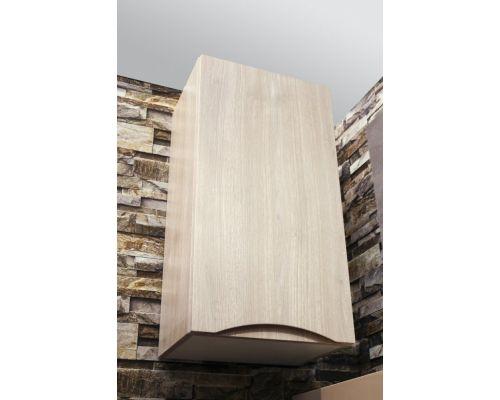 Шкаф подвесной BelBagno FLY-MARINO-750-1A-SC-RG-P-R, 40 х 30 х 75 см, Rovere Grigio/светлое дерево, правосторонний
