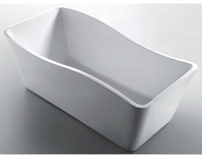 Ванна акриловая Gemy G9240, цвет - белый, 170 х 78 х 65 см