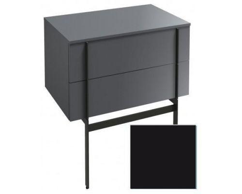 Комод Jacob Delafon Nouvelle Vague 80 см, EB3054-274, цвет черный глянцевый